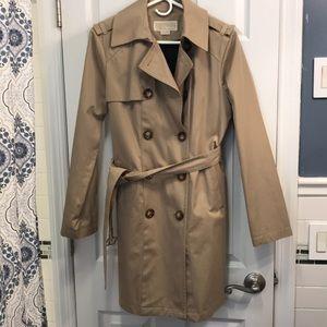 Michael Kors Trench Coat Khaki Small